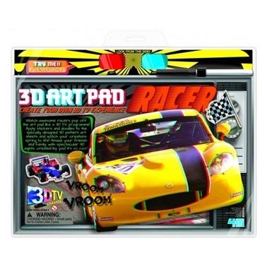 4M 4M 3D Art Pad Racer Renkli